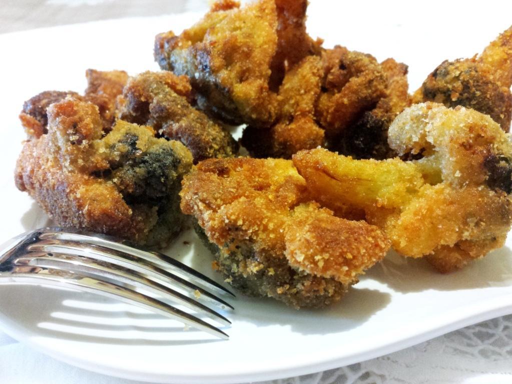 Cavolfiore impanato croccante e appetitoso