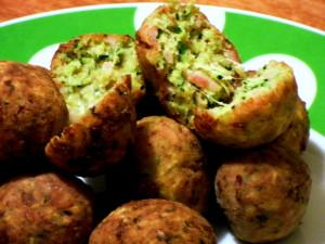 Crocchette di zucchine in padella