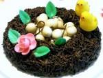 Torta nido di pasqua alla nutella