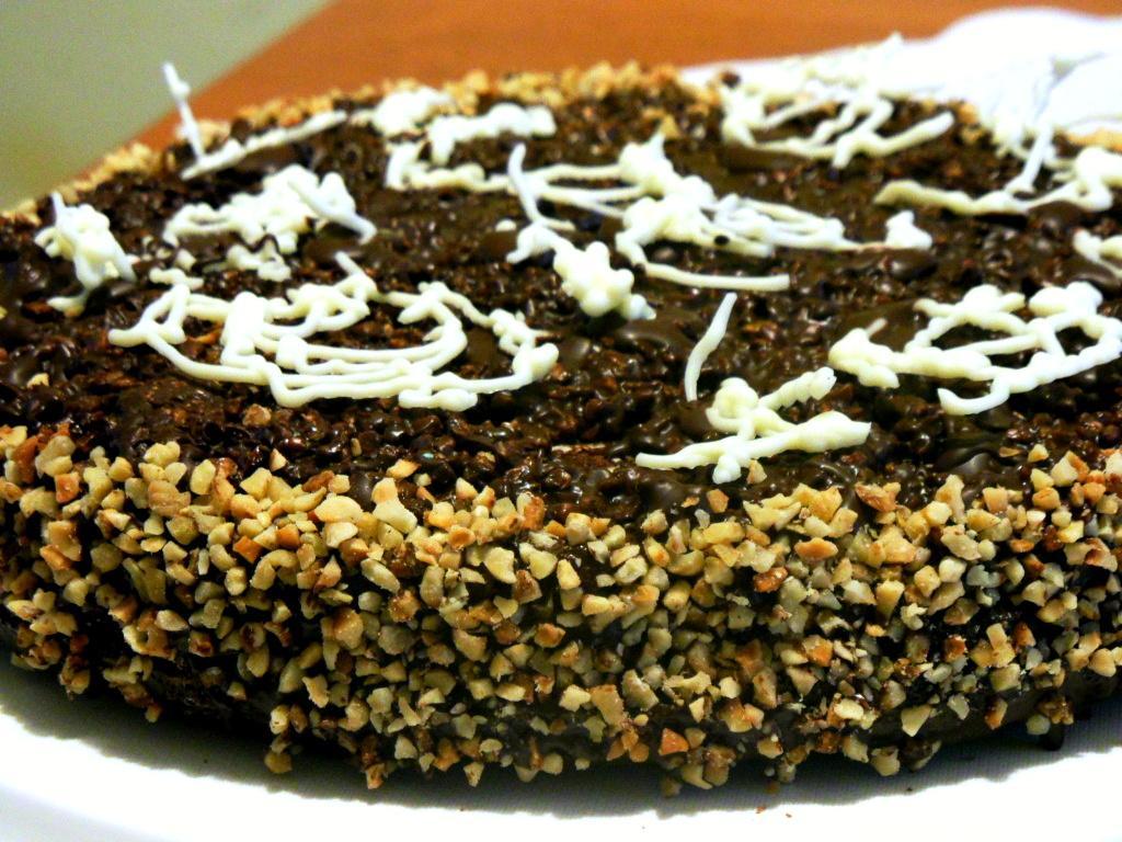 Torta rocher alla nutella croccante fresca e golosa!