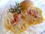 Pan brioche di patate con prosciutto al rosmarino