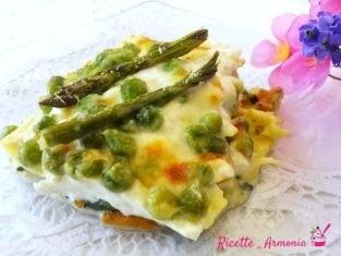Lasagne di verdure e ortaggi