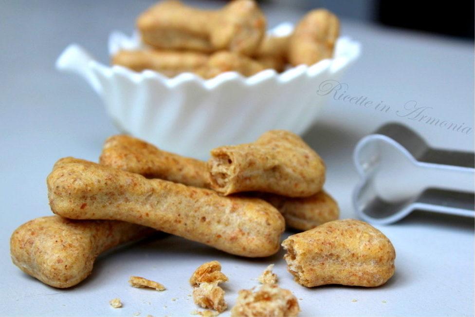 Biscotti per cani al tonno