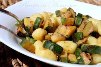 Gnocchi light alle zucchine 250 cal