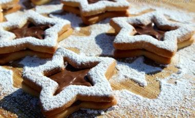 Biscotti di Natale alla nutella