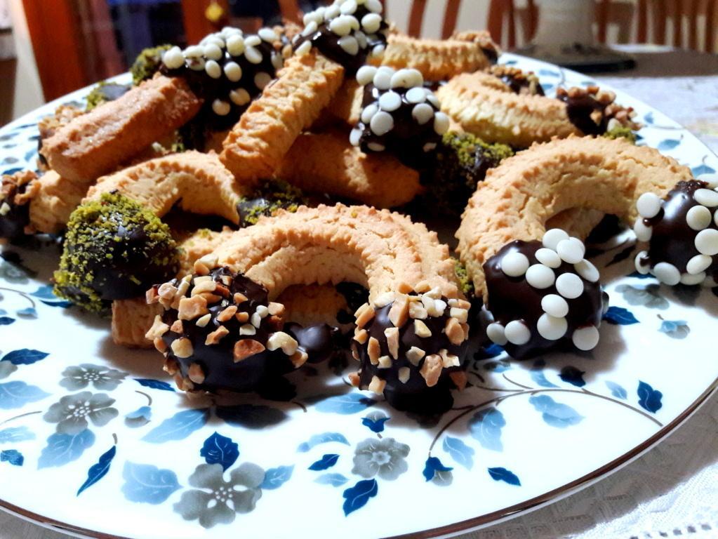 Biscotti squisiti al cioccolato