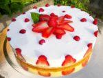 Cheescake alle fragole ... video-ricetta!