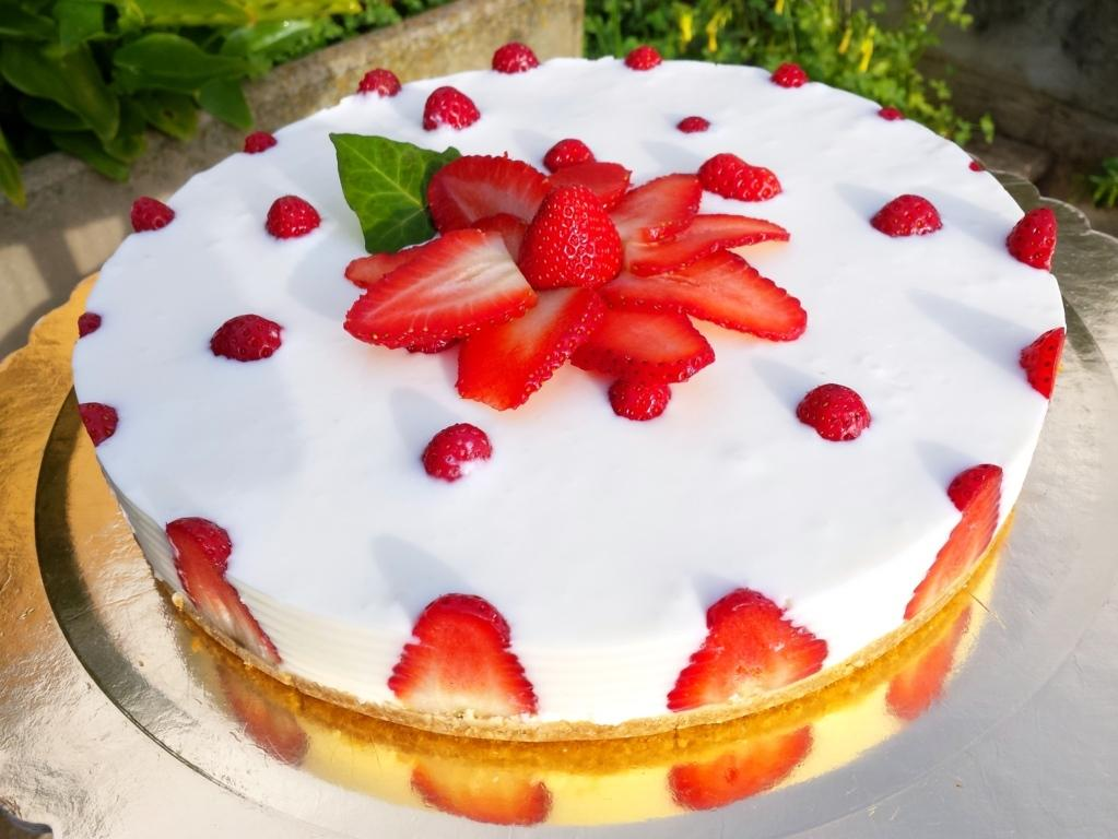 Cheescake alle fragole … video-ricetta!