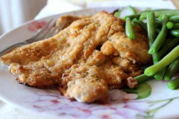 Cotolette di pollo light al forno