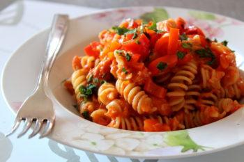 Fusilli peperoni e tonno light!