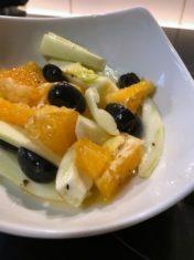 Insalata di finocchi arance e olive in agrodolce!