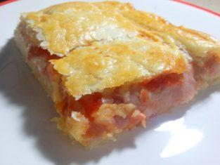 Parigina napoletana, pizza con pasta sfoglia!