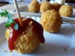 Crocchette di patate speziate ... potato lollipop!