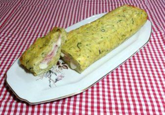 Rotolo di patate e zucchine al forno
