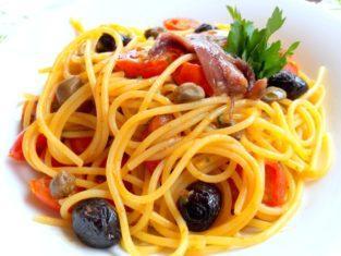 Spaghetti di San Giovanni con Acciughe!