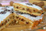 Torta noci e ricotta sapori d'autunno!