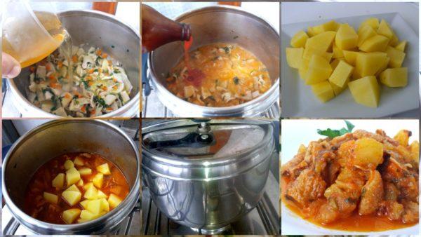 Trippa al sugo in pentola a pressione ricette in armonia - Pentola x cucinare a vapore ...