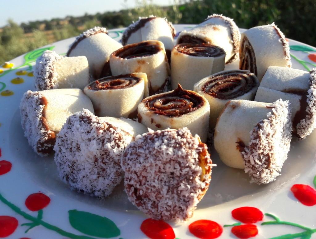 Girelle di nutella dolce last-minute senza cottura!