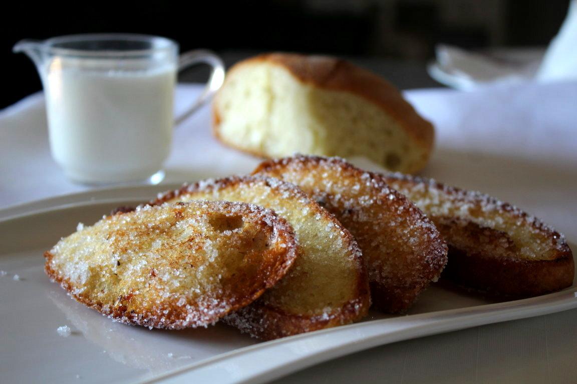 Pane fritto dolce povero in 5 minuti!