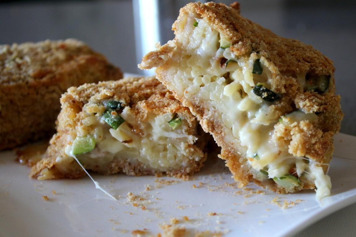 Mattonella di pasta al forno con zucchine