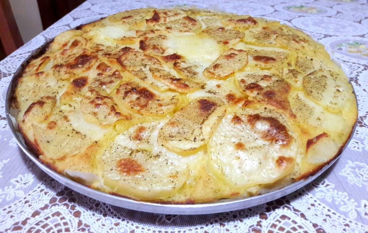 Pizza morbida alle patate