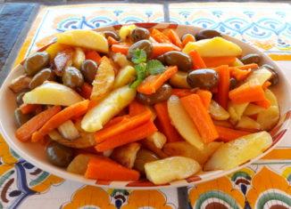 Stimpirata di verdure secondo tradizione siciliana