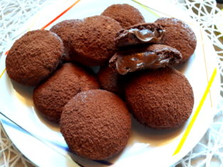 Biscotti Grisbì profumati alla nutella