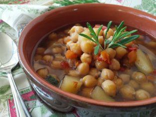 Zuppa vellutata di ceci perfetta