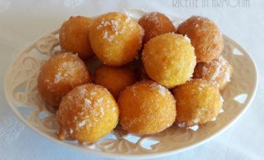 Frittelle dolci alla zucca (zeppole)