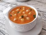 Zuppa di ceci e zucca delicata