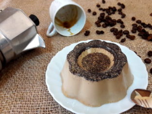 Panna cotta al caffè