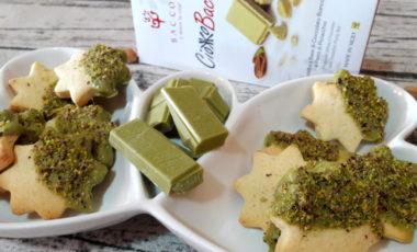 Biscotti al burro e pistacchio