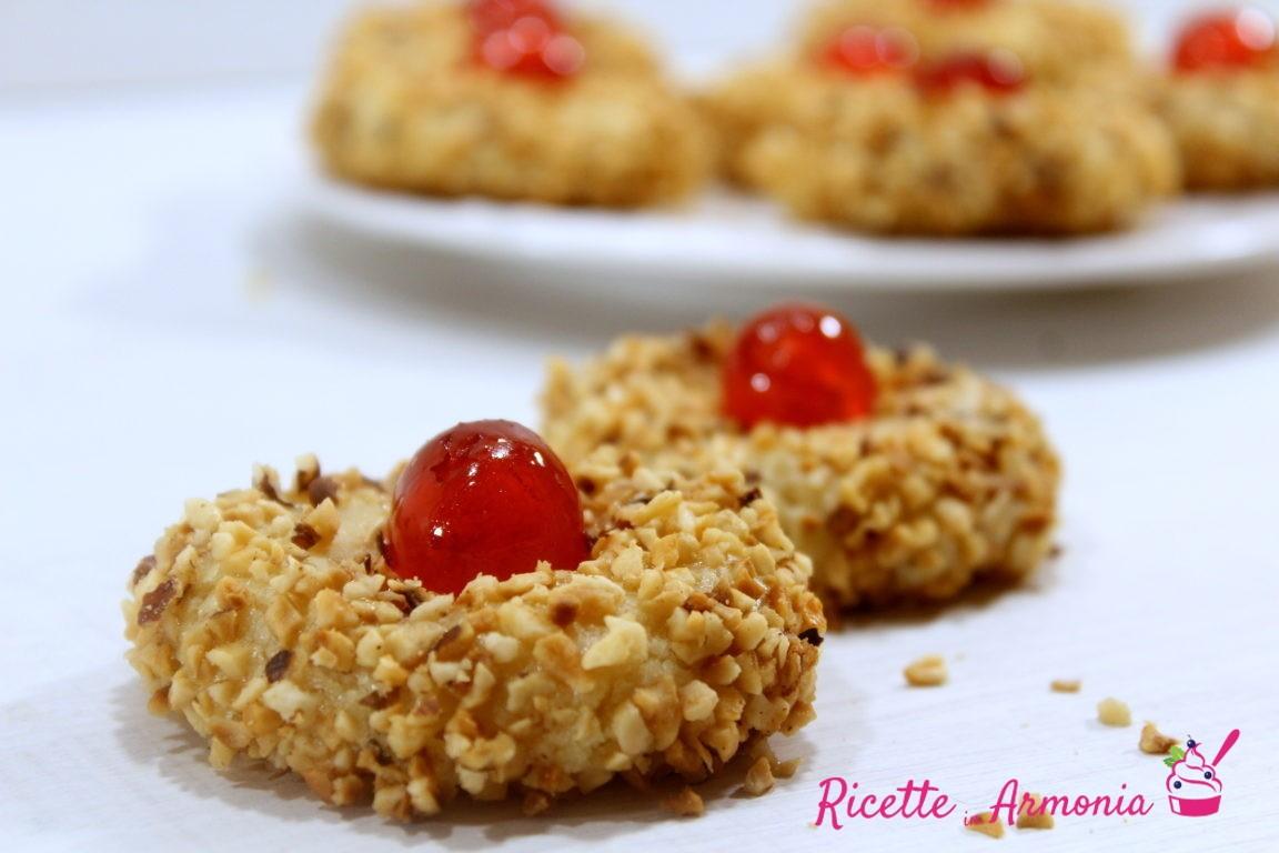 Biscotti siciliani alle nocciole