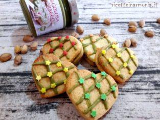 Cuori di frolla al pistacchio