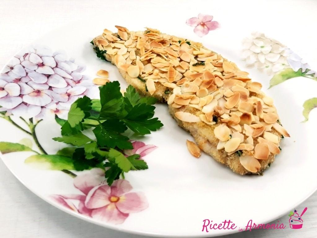 Pesce Spada In Crosta Di Mandorle Ricette In Armonia