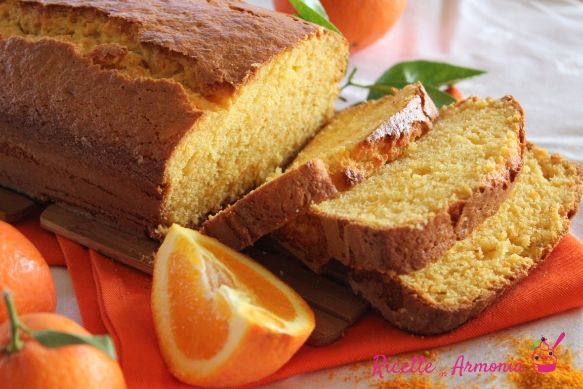 Plumcake alle clementine intere