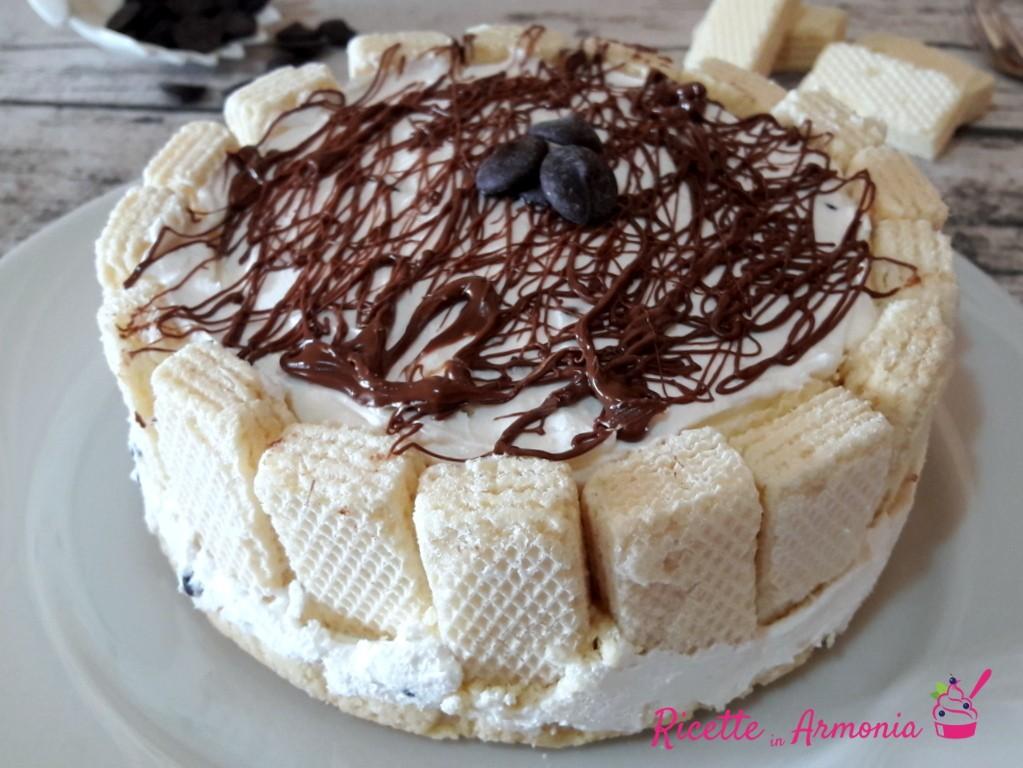 Torta wafer senza cottura