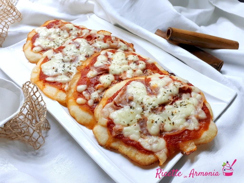 Pizzette soffici in pastella