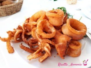 Calamari sabbiati al forno