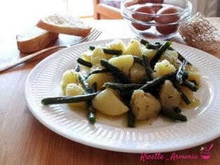 Insalata veloce di fagiolini e patate