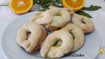 Biscotti rustici all'arancia ❦
