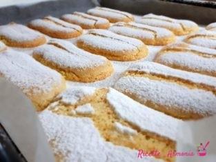 Savoiardi siciliani all'arancia