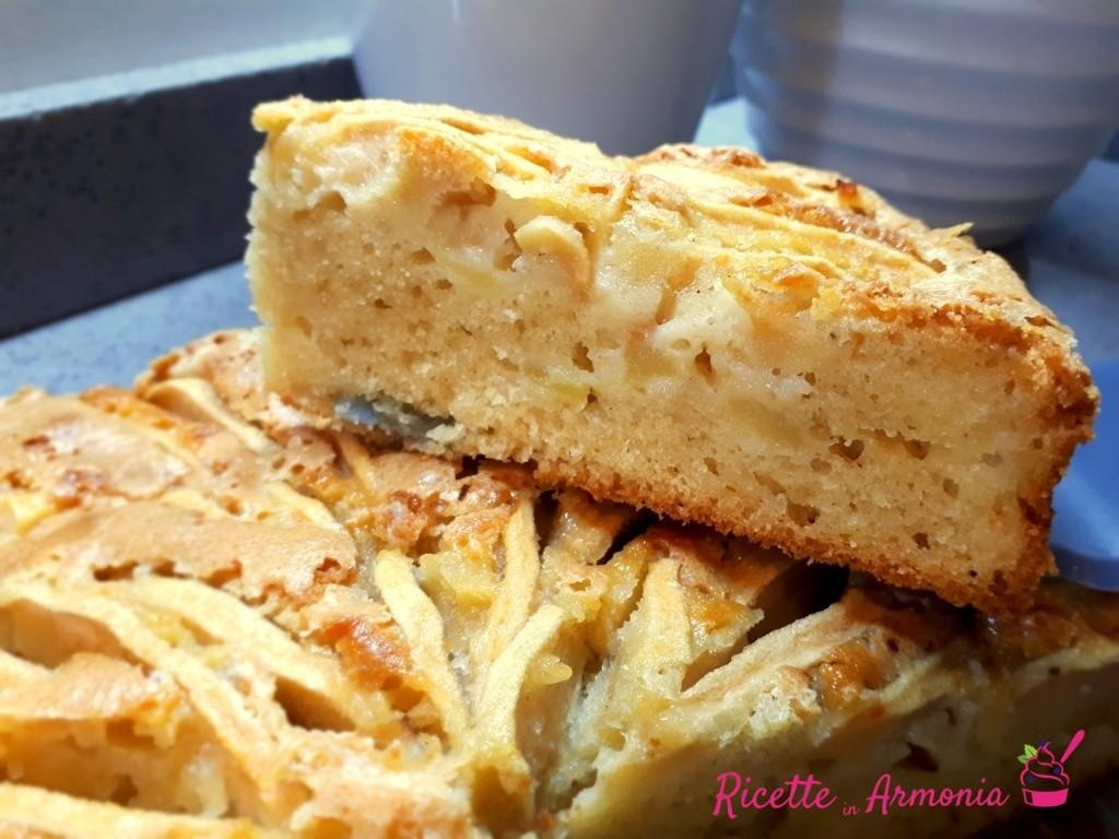 Torta San Martino mele e vino con bimby