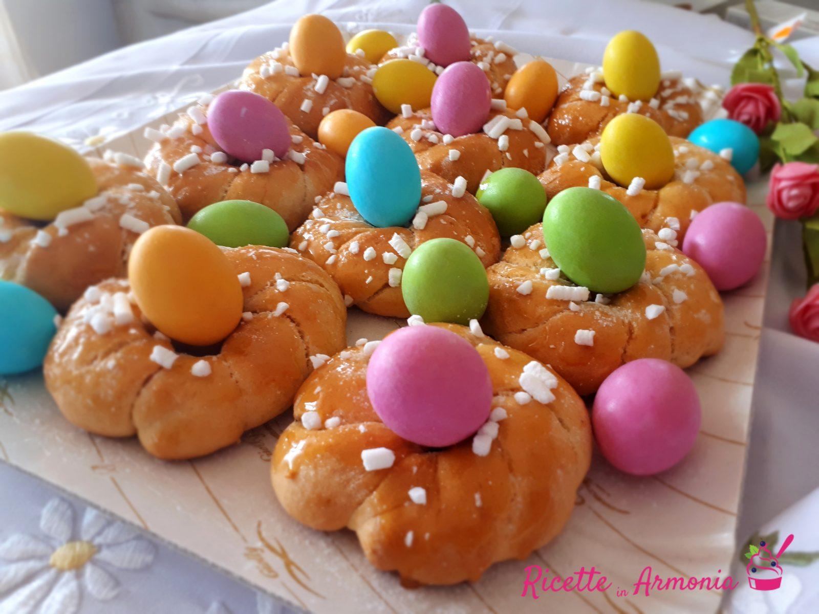 Ciambelline di Pasqua miele e limone