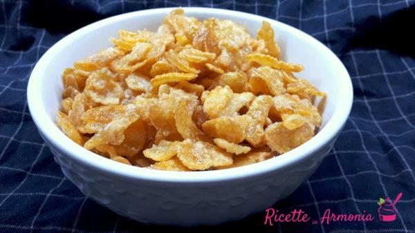 Corn flakes caramellati