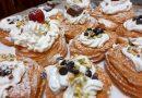 Zeppole di San Giuseppe con pistacchio