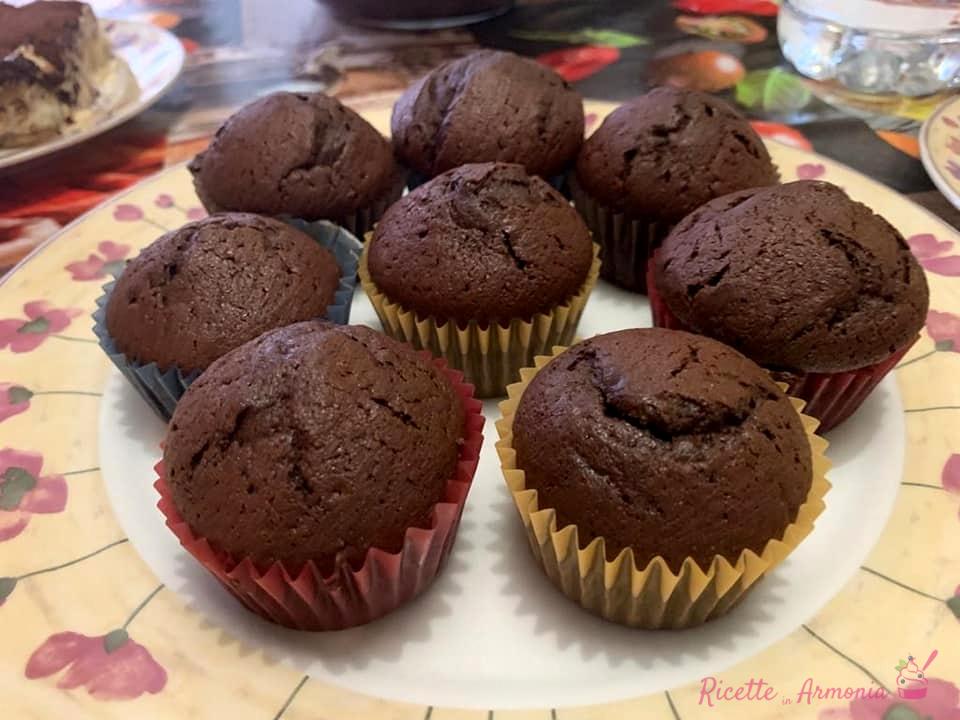 Cupcake al cacao amaro